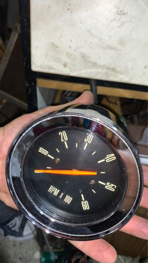 OEM MERCURY CONSOLE TACOMETER 1965 marauder for Sale in West Hollywood, CA