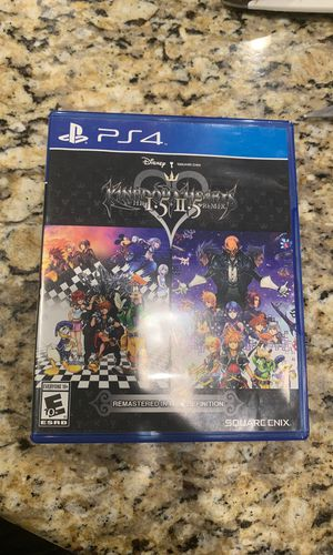 Kingdom Hearts HD 1.5 + 2.5. for Sale in Cary, NC