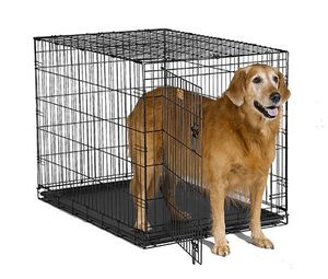 Large Folding Dog Crate, Black (picture for reference) for Sale in Norco, CA