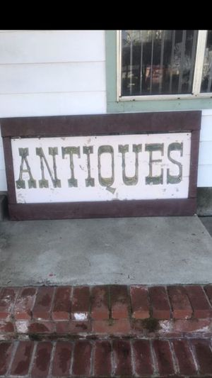 Vintage antique sign for Sale in Lakeside, CA