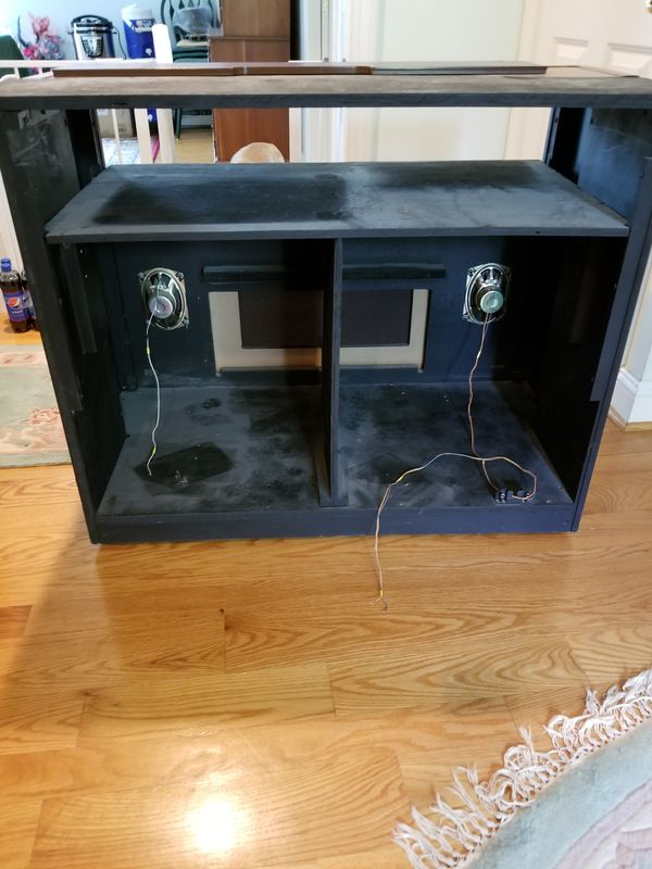 TV Cabinet with speakers