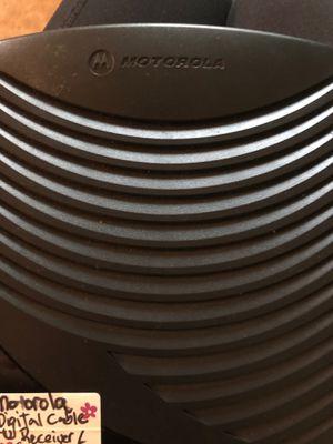 Motorola Digital Cable TV Receiver/Converter for Sale in Salisbury, MD