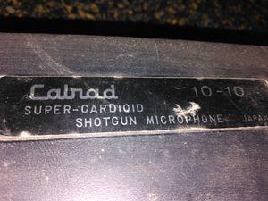 Calrad Super Cardioid Shotgun Microphone for Sale in Peoria, AZ