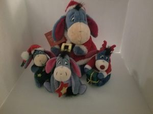 Christmas Eeyore Plush set for Sale in Tacoma, WA