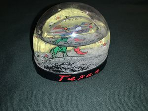 Texas snow globe for Sale in Moreno Valley, CA