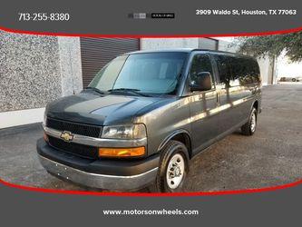 2014 Chevrolet Express 3500 Passenger for Sale in Houston,  TX