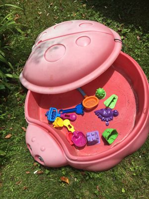 Sandbox with toys for Sale in Germantown, MD