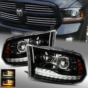 09-18 ram 1500/2500/3500 led DRL headlight for Sale, used for sale  Los Angeles, CA