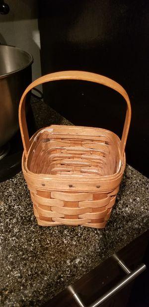 Longaberger Basket for Sale in San Antonio, TX
