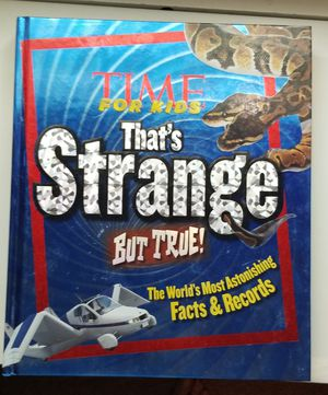 True book Time for Kids That's Strange But for Sale in Murfreesboro, TN