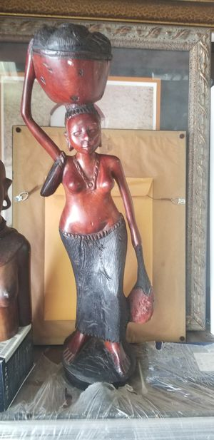 AFRICAN HAND MADE SCULPTURE for Sale in Fairfax, VA