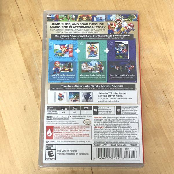 Brand New - Nintendo Switch Super Mario 3D All Stars
