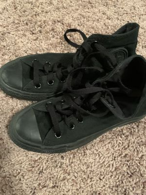 All black converses for Sale in Richardson, TX