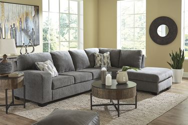 🔥New! Grey modern comfy sofa chaise sectional w/pillows for Sale in Escondido,  CA