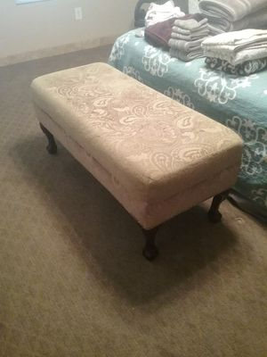 Long ottoman front of bed bench for Sale in Gilbert, AZ