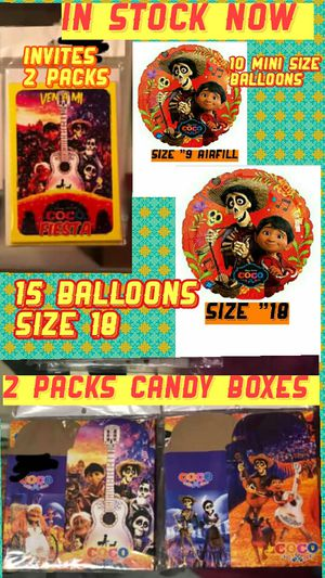 Party supplies decor for Sale in Durham, NC