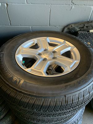 "2020 Jeep Wrangler 17"" Wheels and Tires for Sale in Orlando, FL"