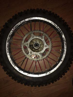 Yz 125 rim & tire & Innertube for Sale in Philadelphia, PA