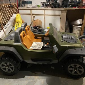 Power Wheels Jeep Hurricane All Terrain for Sale in Romeoville, IL