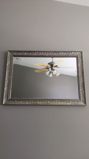 Large Metallic Framed Mirror for Sale in Mesa, AZ