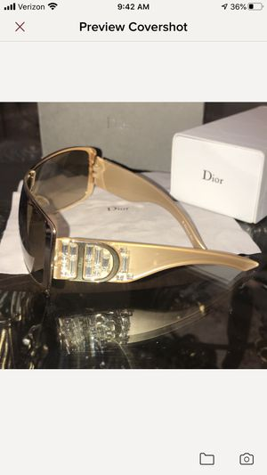 Limited edition Christian Dior sunglasses for Sale in Commerce Charter Township, MI