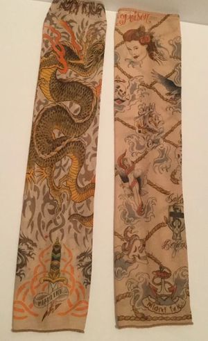2 Miami Ink Sleeves Adult Large Dragon Poison Sink or Swim for Sale in Albuquerque, NM