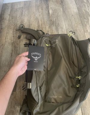 OSPREY PORTER 46 CASTLE GREY O/S HIKING BACKPACK for Sale in Chino Hills, CA