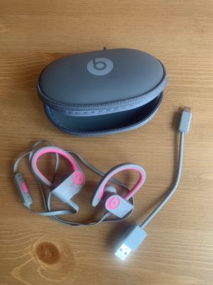 Beats wireless headphones - pink and gray - excellent condition for Sale in Baltimore, MD