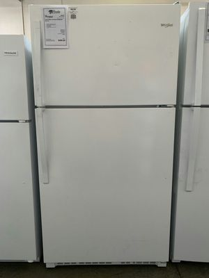 New Whirlpool White 20 CuFt Top Mount Refrigerator Fridge..1 Year Manufacturer Warranty Included for Sale in Chandler, AZ