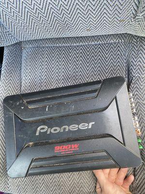 900 watt pioneer amp for Sale in Richmond, VA