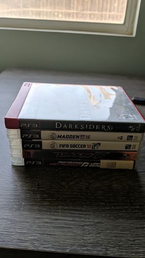 PS3 games for Sale in Corona, CA