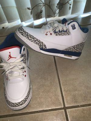 Jordan retro 3 true blue 2016 (gs) for Sale in Kissimmee, FL