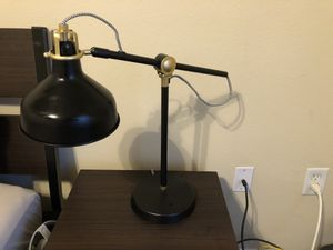 Black desk lamp for Sale in Raleigh, NC