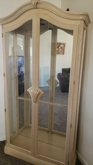 Glass cabinet for Sale in Fresno, CA