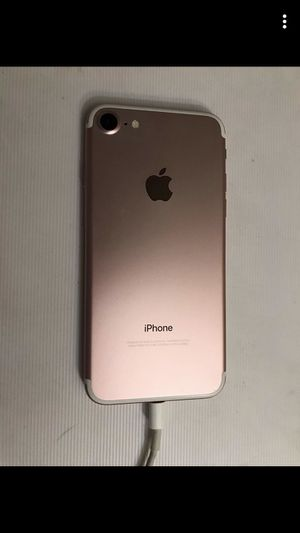 iPhone 7 128g rose gold for Sale in Menifee, CA