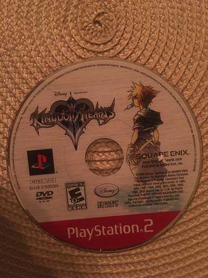 Sony PlayStation ps2 kingdom hearts 2 for Sale in Visalia, CA