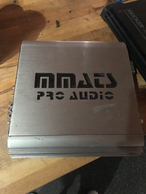 Mmats pro audio 2100 watts and kicker 750 watts for Sale in Brockton, MA