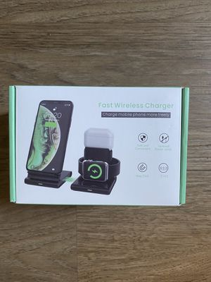 3 in 1 Wireless Charging Station for Sale in Los Angeles, CA