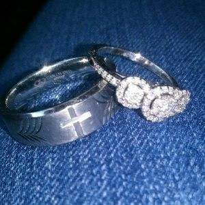 Engagement/wedding Ring for Sale in Wichita, KS