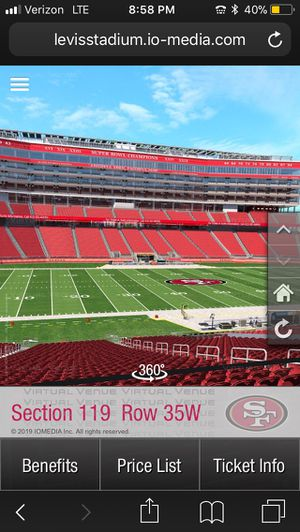 49ers vs Packers Tickets for Sale in Sunnyvale, CA