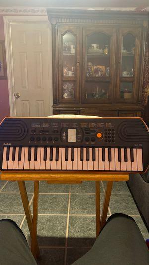 Casio SA-76 Piano for Sale in Houston, TX