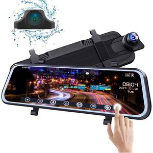New DDA900 Mirror Dash Cam Backup Camera for Car, 9.66 inch IPS Touch Full Screen ; 1080P 170° Full HD Front Camera;1080P 140°Wide Angle Full HD Rear for Sale for sale  Brooklyn, NY