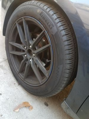 18 inch rims 5x114.3 for honda mustang for Sale in Los Angeles, CA