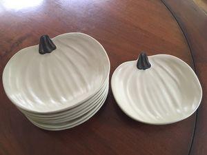 Pumpkin plates for Sale in Wayland, MA