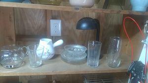 Antique Glasses plates bowls. for Sale in Spartanburg, SC