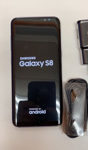 Samsung Galaxy s8 unlocked 64 gb, Sold with warranty for Sale in Somerville, MA