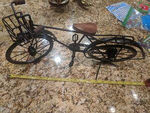 Vintage Bicycle Decor 20 in long 10 in high for Sale in Visalia, CA