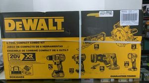 DeWalt 20v max lithium 6 tool combo kit...brand new in Box for Sale in Fort Lauderdale, FL
