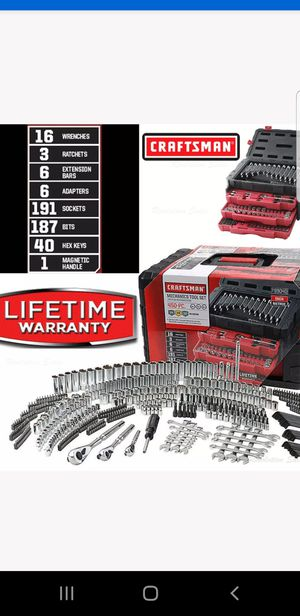 CRAFTSMAN TOOLS SET 450 PCS NEW for Sale in Lynwood, CA