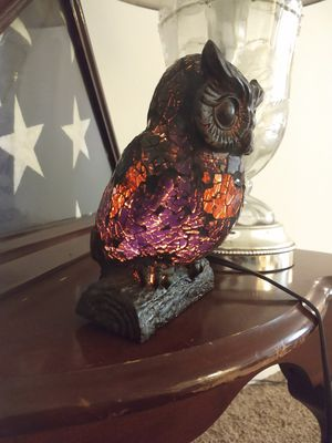 Light up owl lamp for Sale in Vancouver, WA